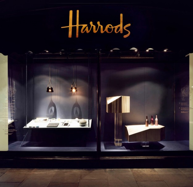 Wallpaper magazine - Harrods Window Displays - Handmade Exhibition 2013